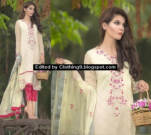 So Kamal Embroidered Stitched Suits