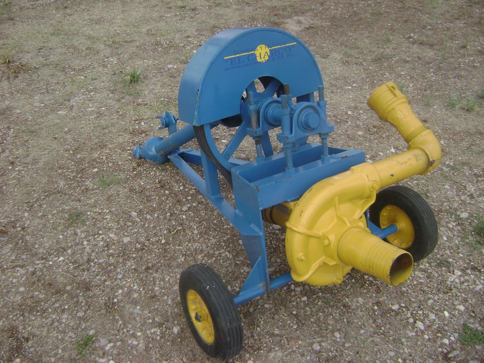 Maquinaria agricola industrial bomba charquera 12 500 pesos - Bomba para sacar agua ...
