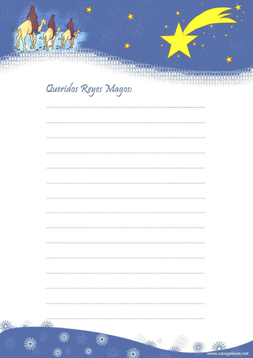 Worksheet. Cartas a los Reyes magos para imprimir  el almacen de los regalos