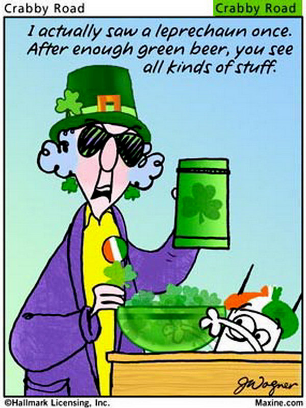 Chuck 39 s fun page 2 st patrick 39 s day humor for Funny irish sayings for st patrick day