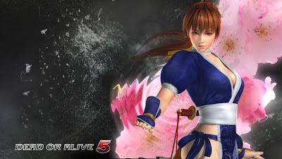 Kasumi Dead or Alive 5 Game Wallpaper