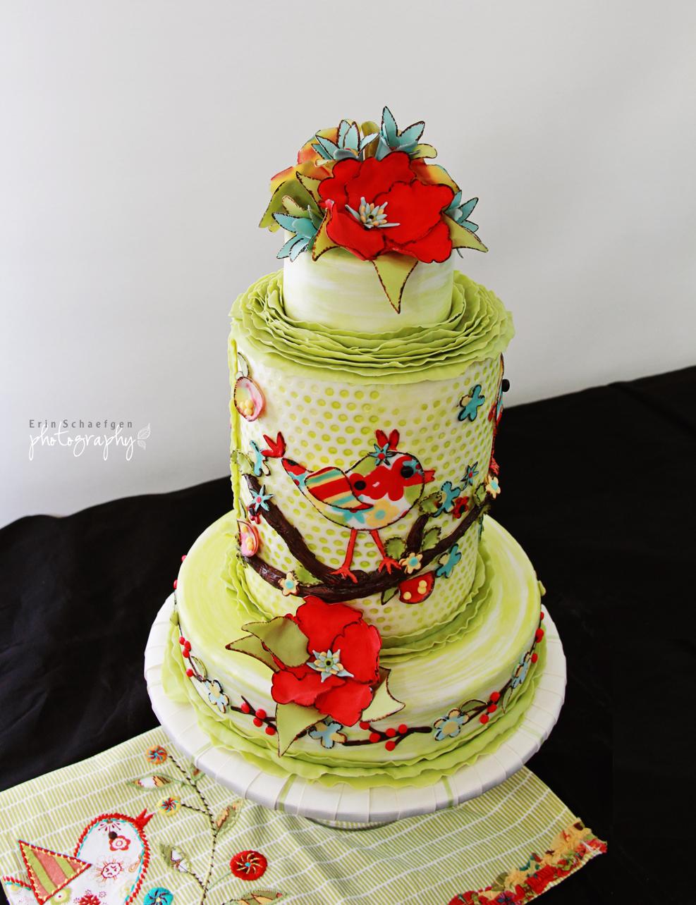 Beautifully Embellished Cakes