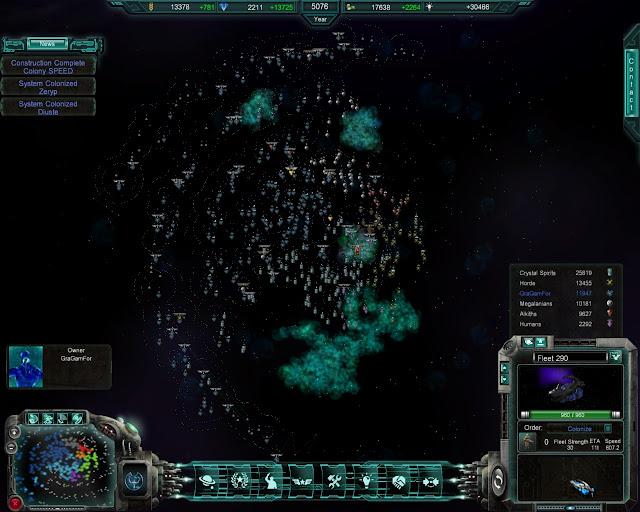 Lost Empire - Spiral Galaxy Screenshot