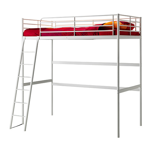 great dana 39 s workshop how to shorten a non adjustable metal ikea loft bed. Black Bedroom Furniture Sets. Home Design Ideas