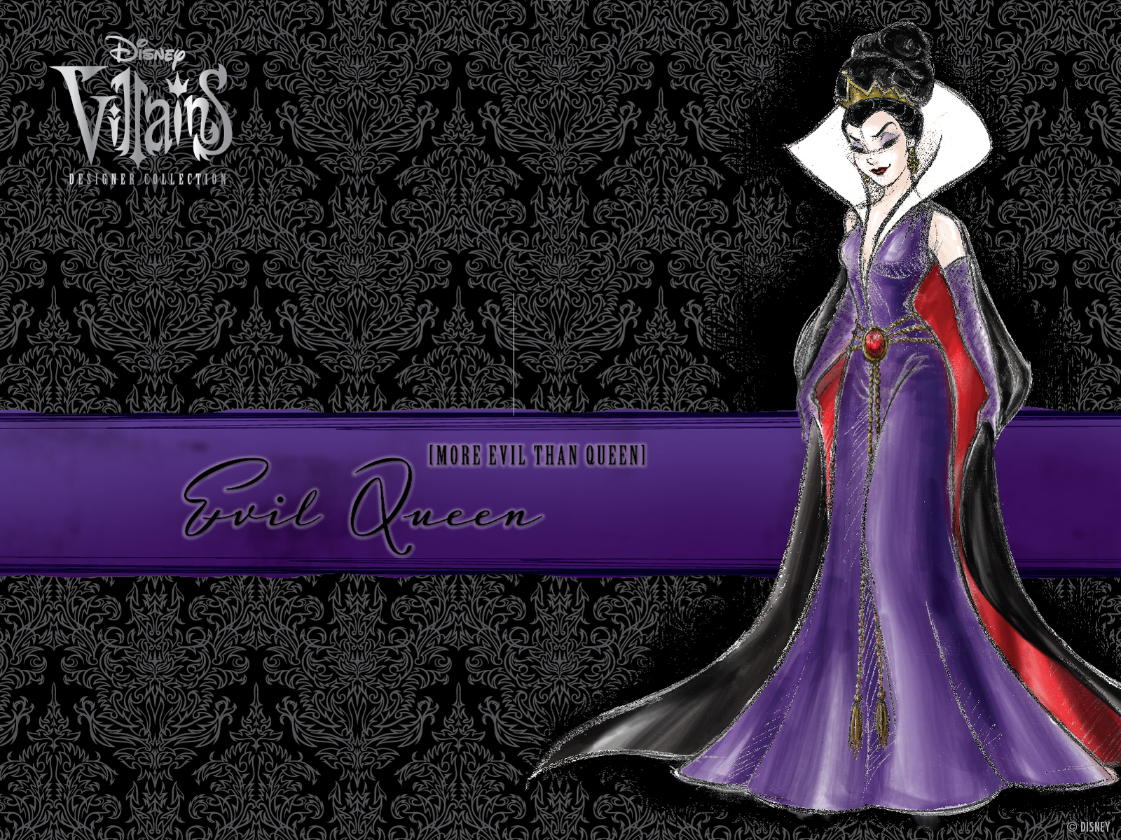 filmic light - snow white archive: villains designer collection