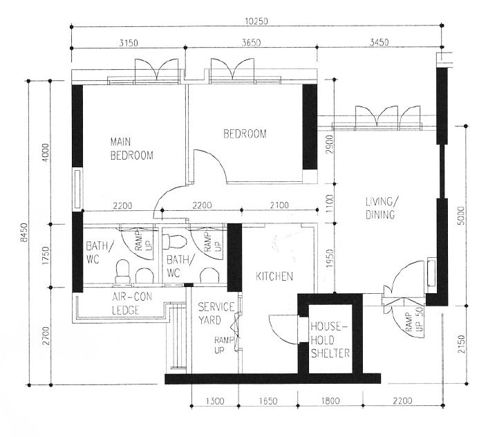 Trend Floor Plan of our TTB