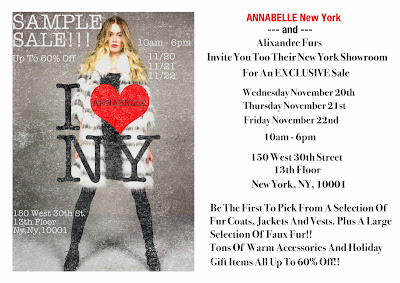 ANNABELLE New York  and Alixandre Fur Sale