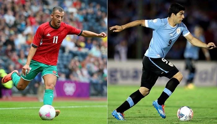 Uruguay vs Marruecos en vivo
