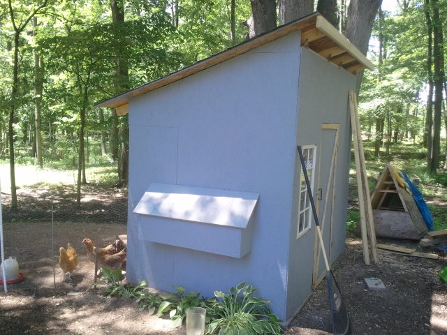 Christian cognition build your own chicken coop for Build your own guest house