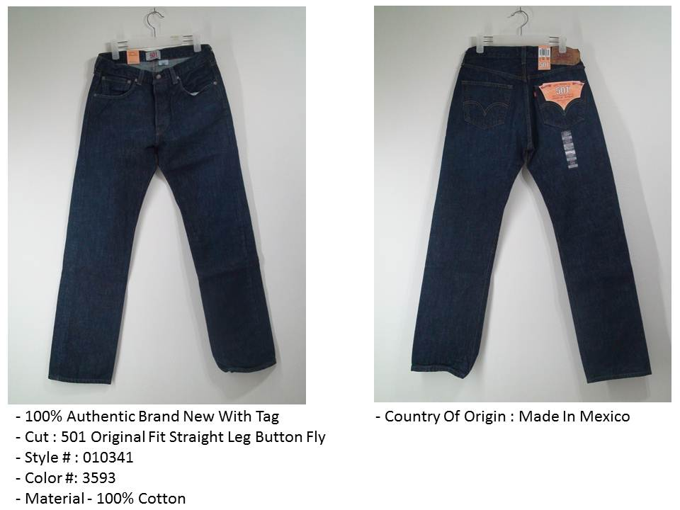 Selamat Datang Welcome To Our Shop Levis 501 Straight Leg