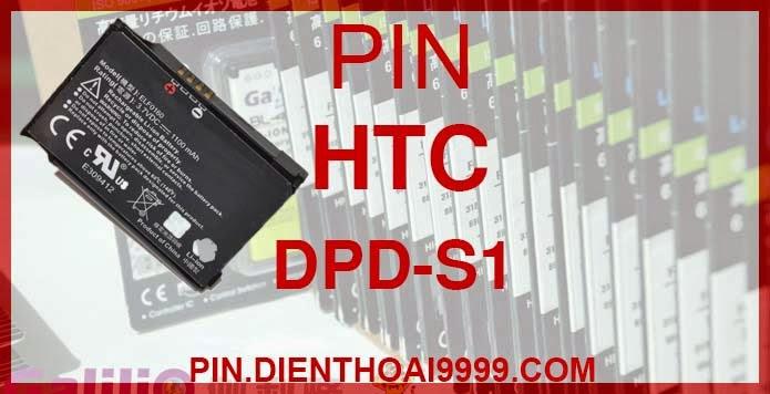 Pin điện thoại HTC DPD-S1 - Pin Galilio HTC DPD-S1 dung lượng cao 1450 mAh - Giá 180k - Bảo hành: 6 tháng  - Pin tương thích với điện thoại HTC S1/ S500/ S505/ P3450/ HTC TOUCH 1/ VX6900  Thông số kĩ thuật: - Pin HTC DPD-S1 1450 mAh được thiết kế kiểu dáng và kích thước y như pin nguyên bản theo máy, Pin tiêu chuẩn, chất lượng như pin theo máy. - Kích thước:  - Dung lượng: 1450 mAh - Điện thế: 3.7V - Công nghệ: Pin Li-ion Battery