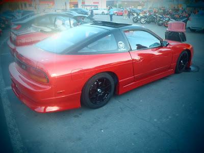 Drifter Nissan 240SX Red