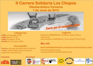 carrera solidaria Los Chopos vilecha www.mediamaratonleon.com