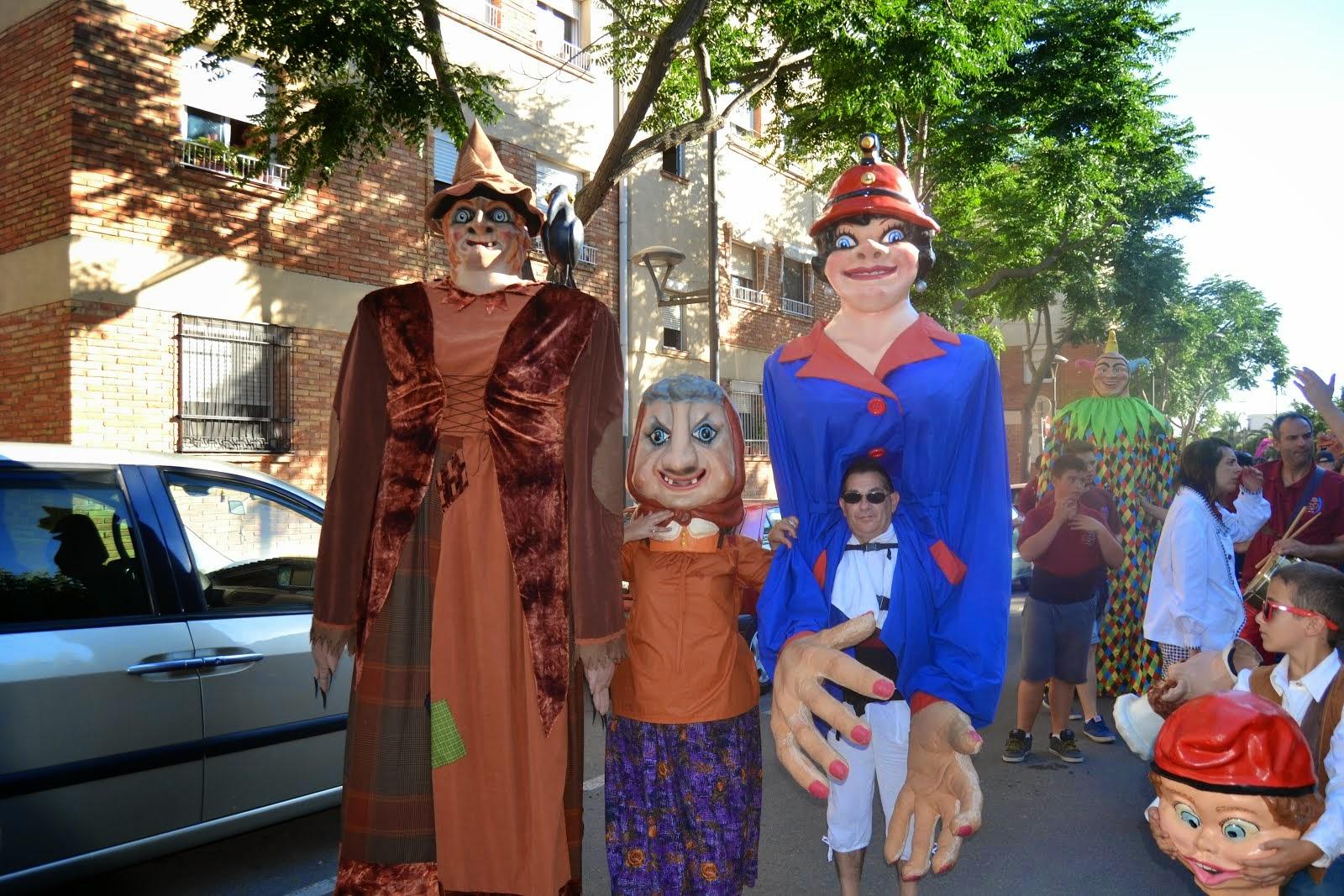 I Trobada de gegants al barri Fortuny de Reus