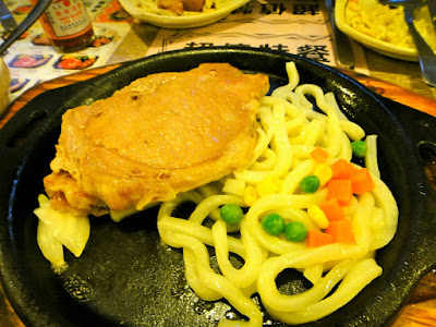 Pork Steak at Dream Mall Kaohsiung Taiwan