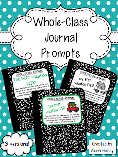 https://www.teacherspayteachers.com/Product/Whole-Class-Journal-Covers-271814