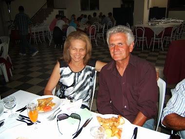 Fernando Silva e a esposa