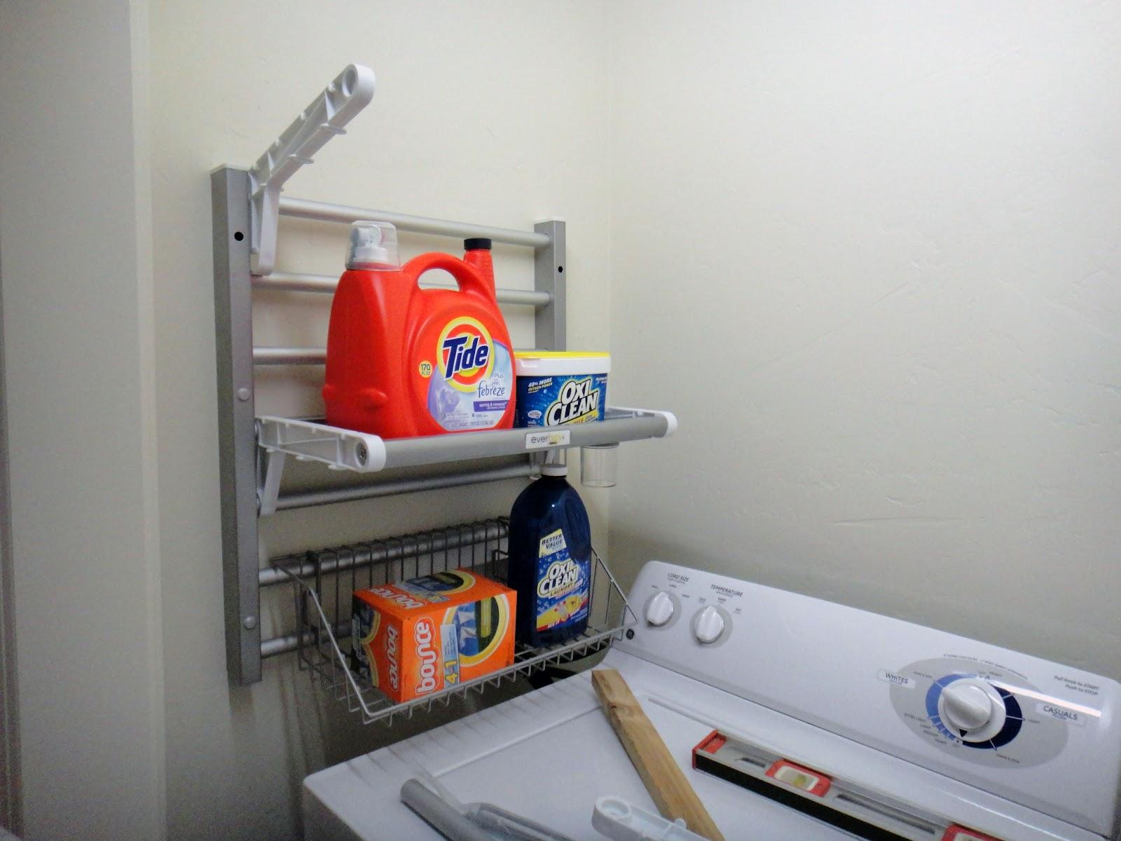 Laundry Linen Closet Project
