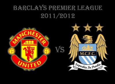 Manchester United vs Manchester City Barclays Premier League