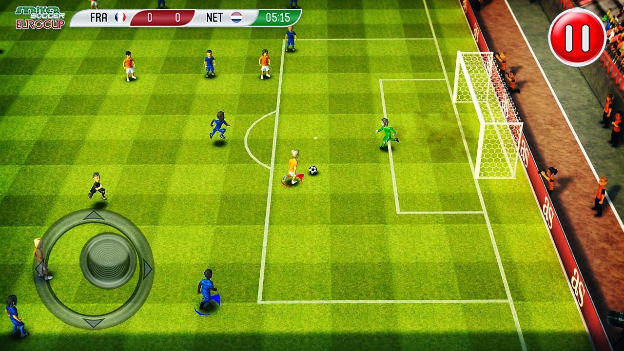 Striker Soccer Euro 2012-5 Pro Full APK