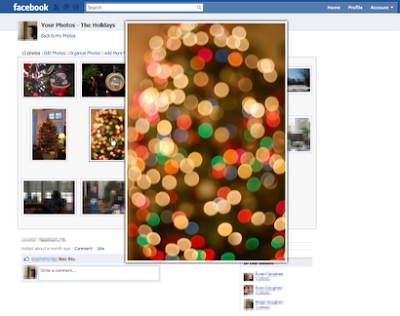 Facebook photo zoom Google Chrome Extension