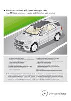 2011 Mercedes-Benz M-Class W 166 Noise acoustics AIRMATIC active curve comfort handling