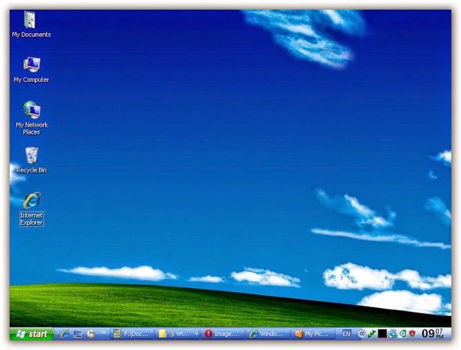 نسخة ويندوز xp بأخر التحديثات والبرامج تعمل على جميع الاجهزة