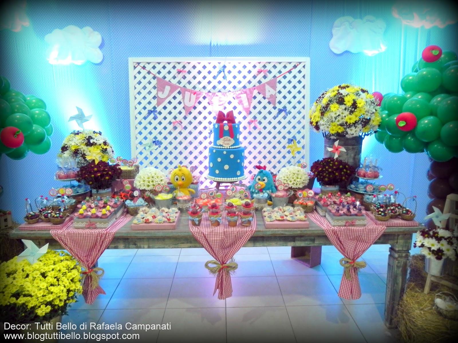 Tutti Bello di Rafaela Campanati: Decor Infantil: Aniversário da  #0C6A43 1600x1200