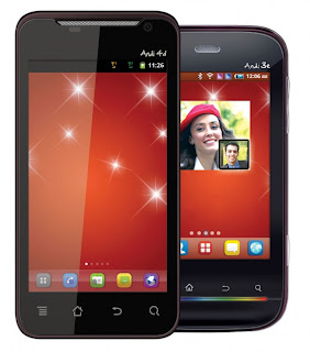 iBall Andi 3e & Andi 4d Dual SIM Android Smartphone