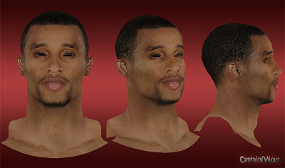NBA 2K13 George Hill Cyberface Mod