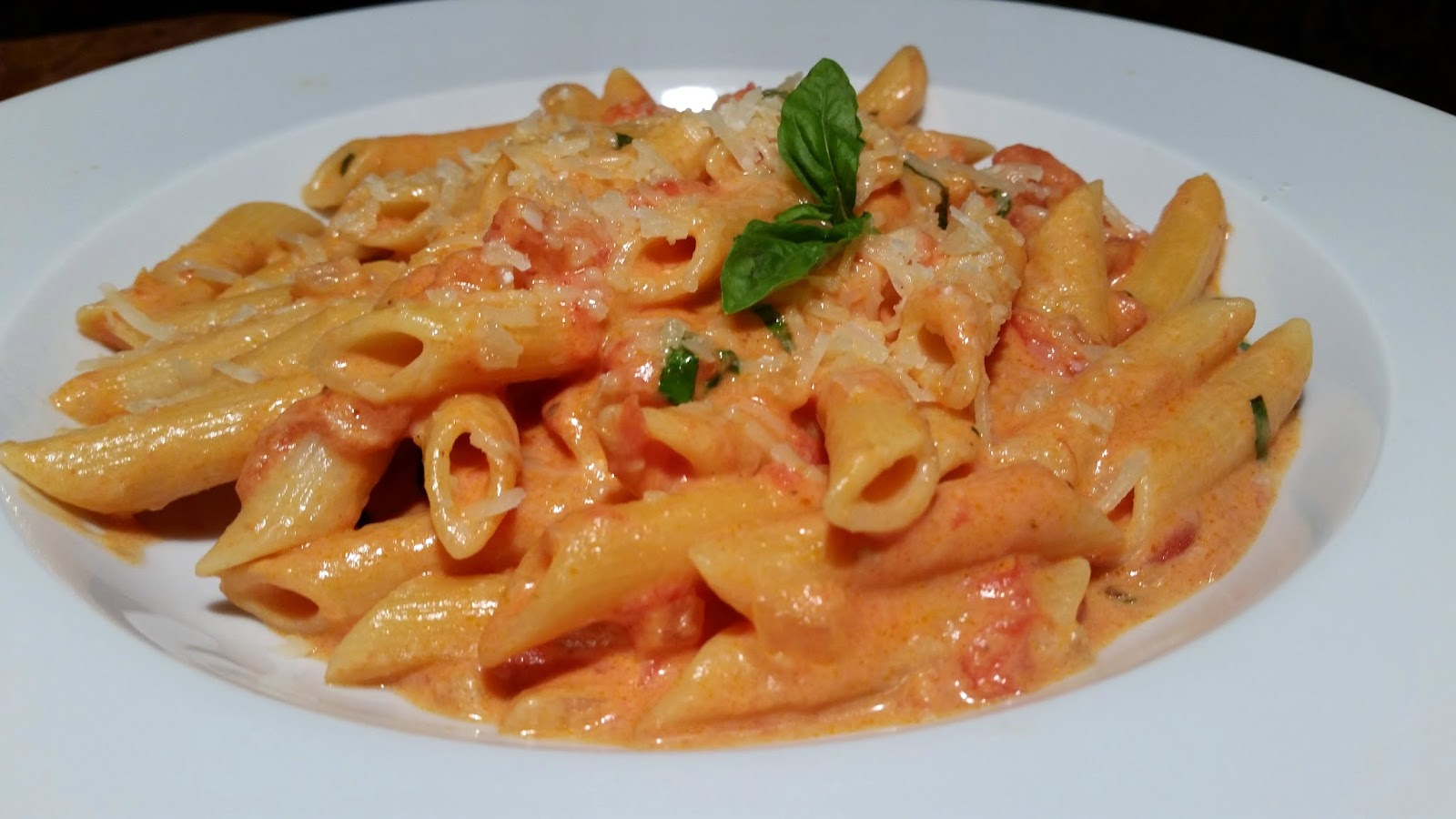 Thibeault's Table: Penne Alla Vodka