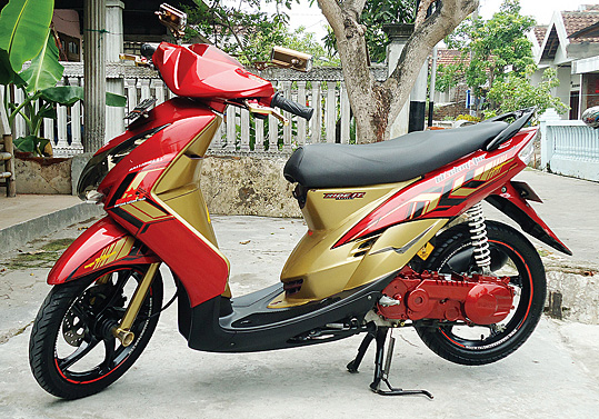 Top modifikasi mio gold