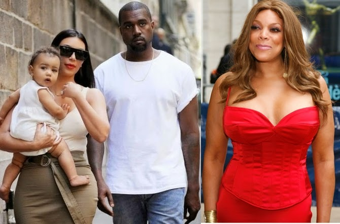 "Kanye West is a mad man who's stolen Kim's Joy""-Wendy Williams"