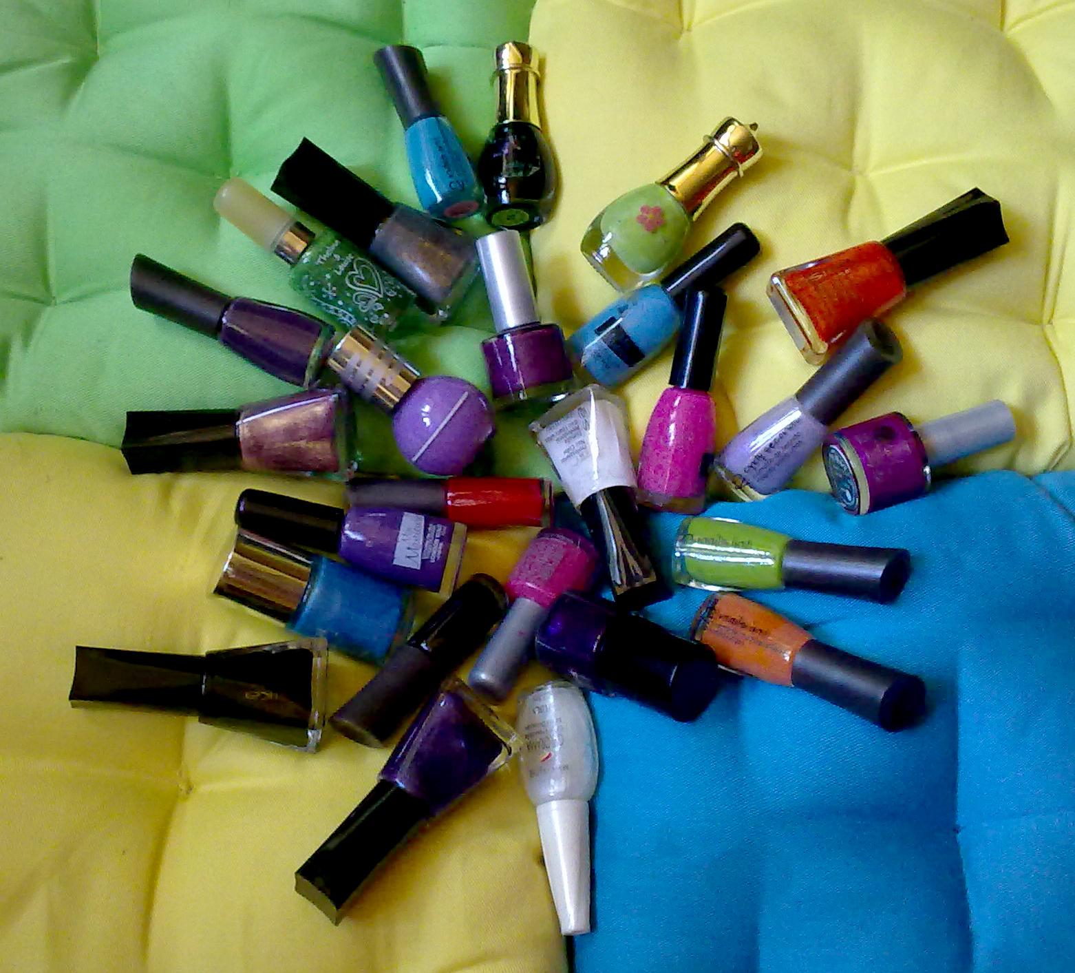 Revisión de mis esmaltes de uñas más usados | Caro Maquillaje