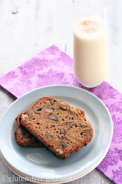 Gluten-Free Banana Nut Bread Recipe - Gluten-Free Goddess Recipes