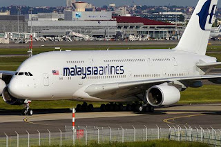 Pesawat A380 Malaysia Airlines
