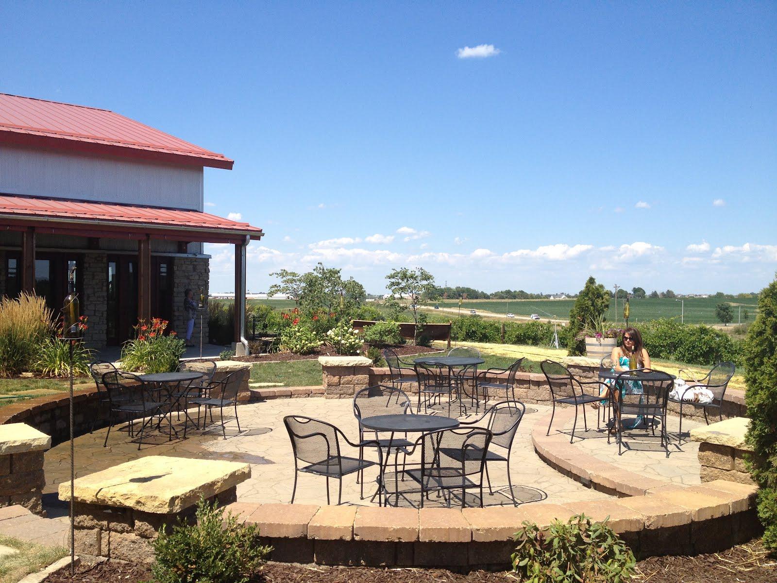 Wine Travel Stories Iowa Wine Visit To Cedar Ridge