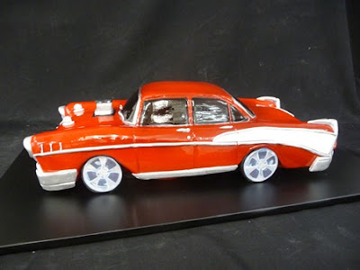 Very  Realistic Original Car Cake.