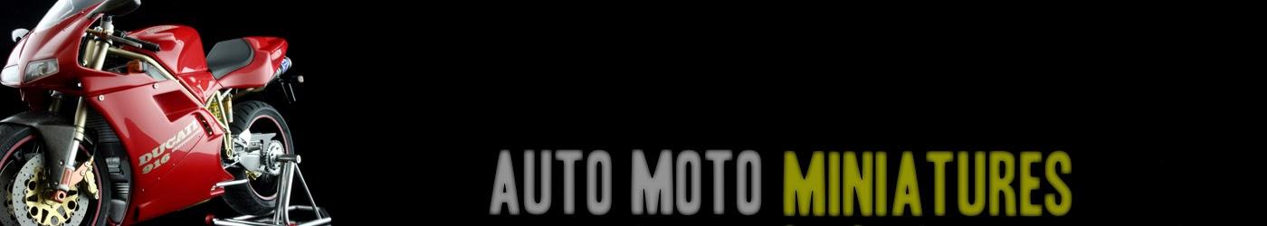 auto moto miniatures