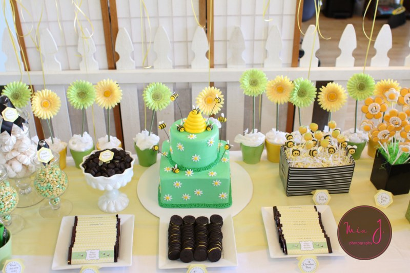 Alexanders Playroom Bumble Bee Baby Shower Ideas