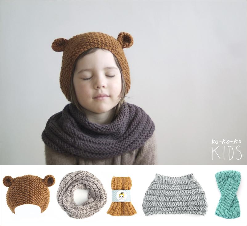 Связанные вручную уютные и удобные шапки, шарфы-воротники, гетры и повязки
