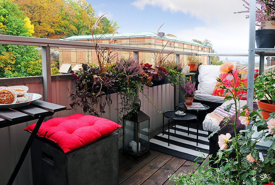 Piękny jesienny balkon...   fotobloo(g)   wnętrza, design. diy ...