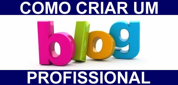 Criar um blog profissional