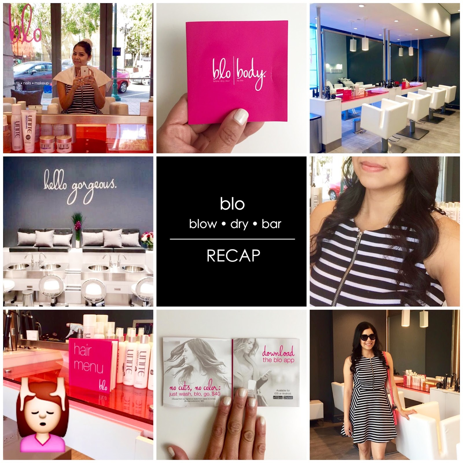 Blo San Diego, Blo Gaslamp, Blo Blow Dry Bar, Body by Blo, Blo Bar in San Diego, Blo Bar review, Blo blogger recap, Blo opens in 2015, Drybars in San Diego, places to get blow outs in San Diego