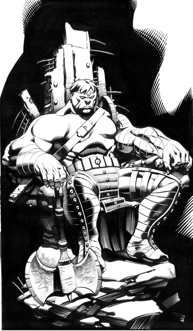 Planet Hulk por chriss2d