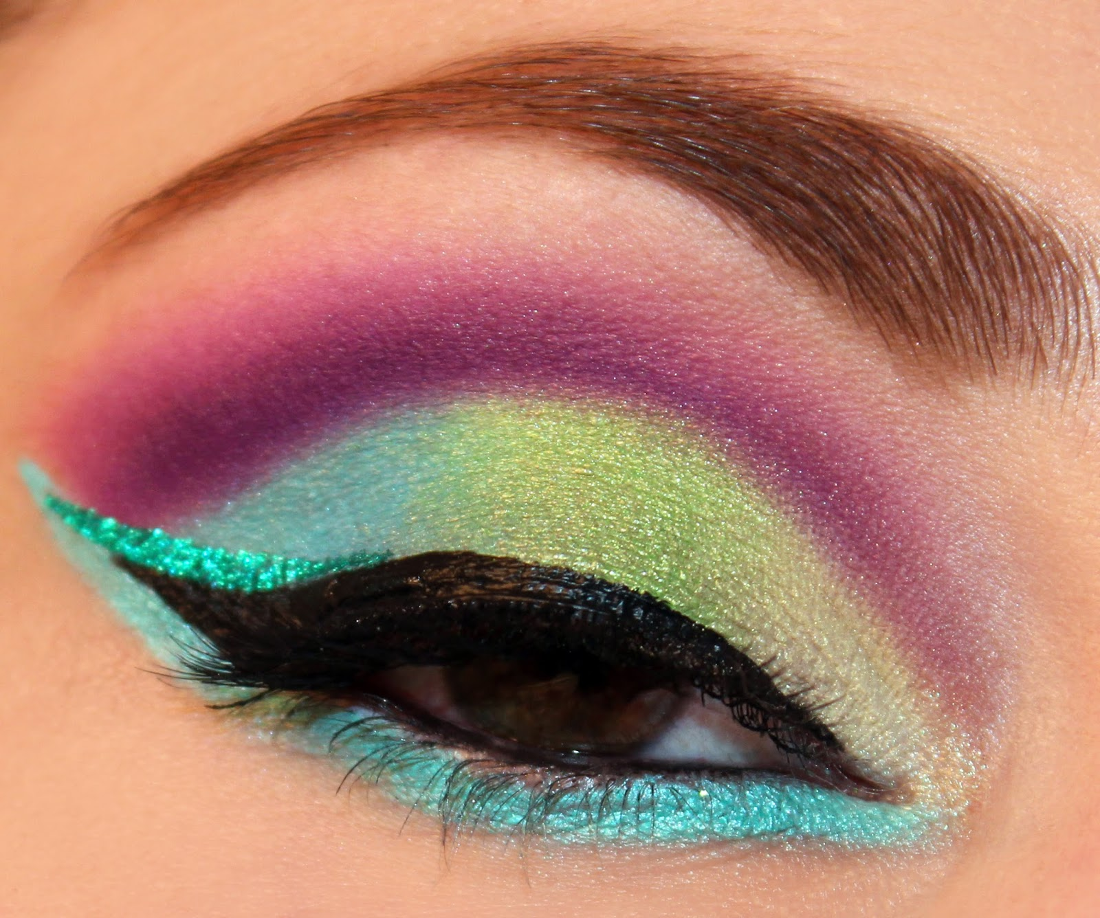 Colorful Summer Makeup