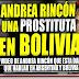 Imagenes de Andrea Rincón haciendo de Prostituta en Bolivia