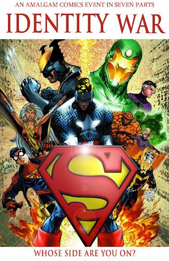 Identity War - DC / Marvel