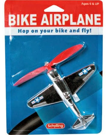 Schylling toy bike plane