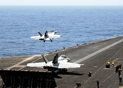 F/A-18F Super Hornets